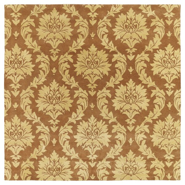 Drewery Brown/Yellow Area Rug by Astoria Grand