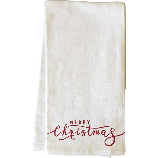 Merry Christmas Dishcloth by One Bella Casa