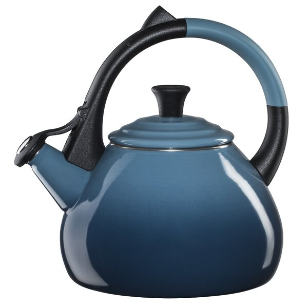 Enamel On Steel 1.6 Qt. Oolong Stovetop Kettle by Le Creuset