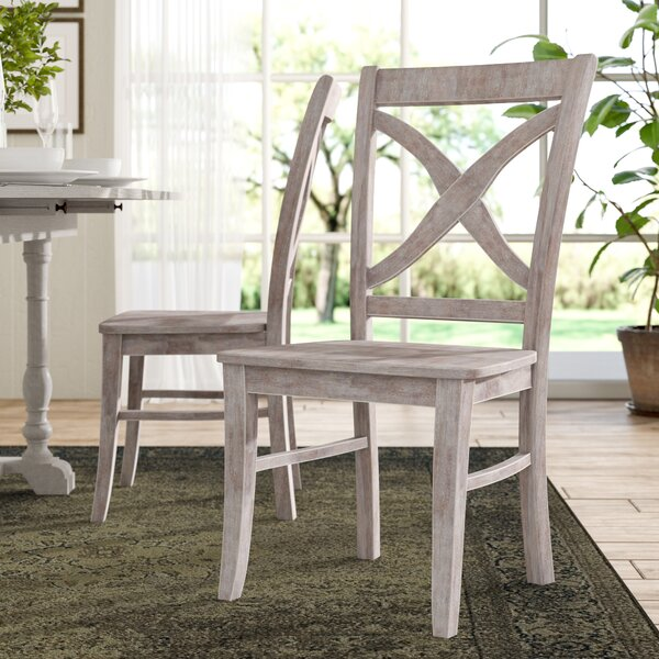 Beuvron Solid Wood Dining Chair (Set of 2) by Lark Manor