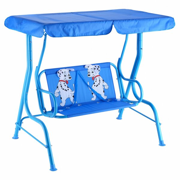 Labbe Porch Swing with Stand by Zoomie Kids Zoomie Kids