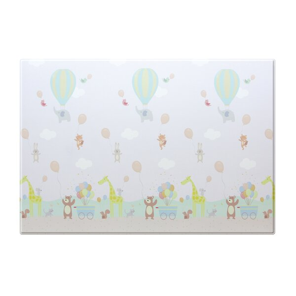 Hot Air Balloon Alphabets Floor Mat by Baby Care