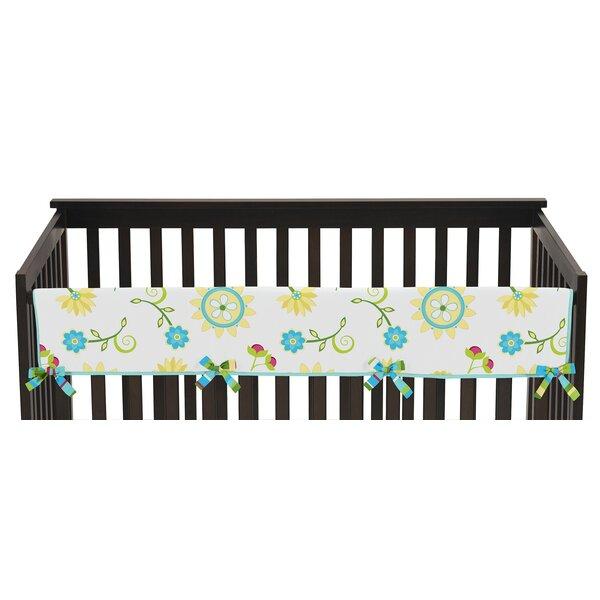 Layla Long Crib Rail Guard Cover by Sweet Jojo Designs