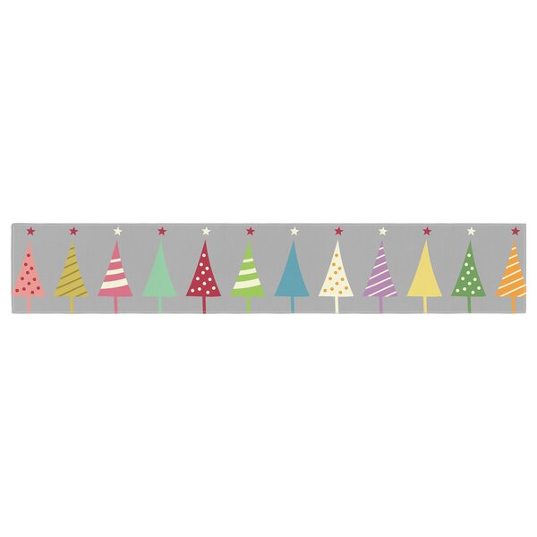 Snap Studio Crazy Trees Table Runner by East Urban Home