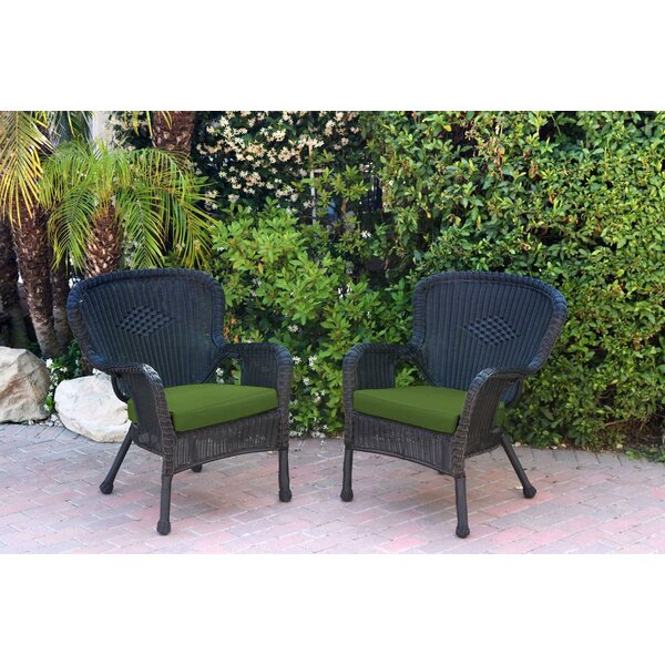 Damarion Arm Chair with Cushions (Set of 2) by Mistana Mistana