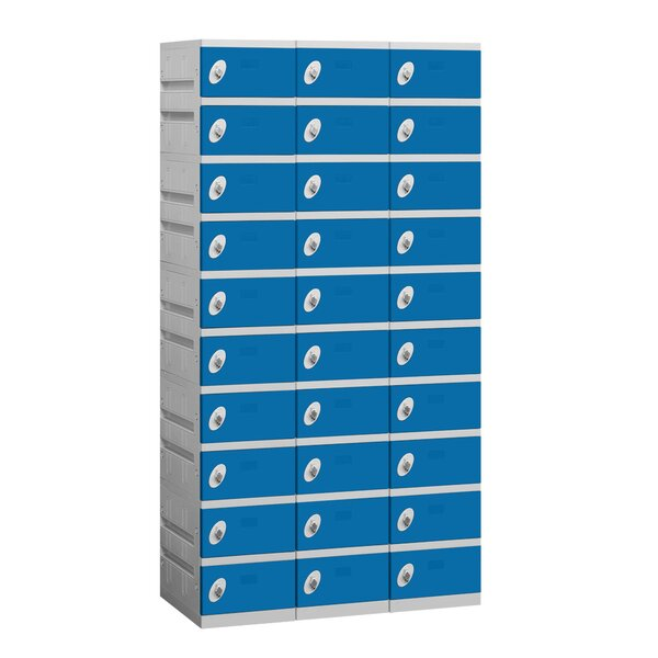 10 Tier 3 Wide Employee Locker by Salsbury Industries