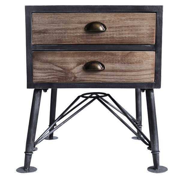 Makenna 2 Drawer Nightstand by 17 Stories
