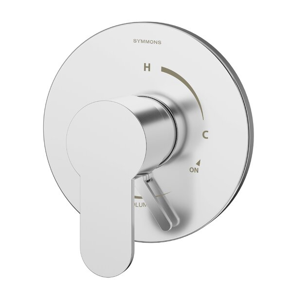 Identity Pressure Balance Shower Valve with Metal Lever Handle by Symmons