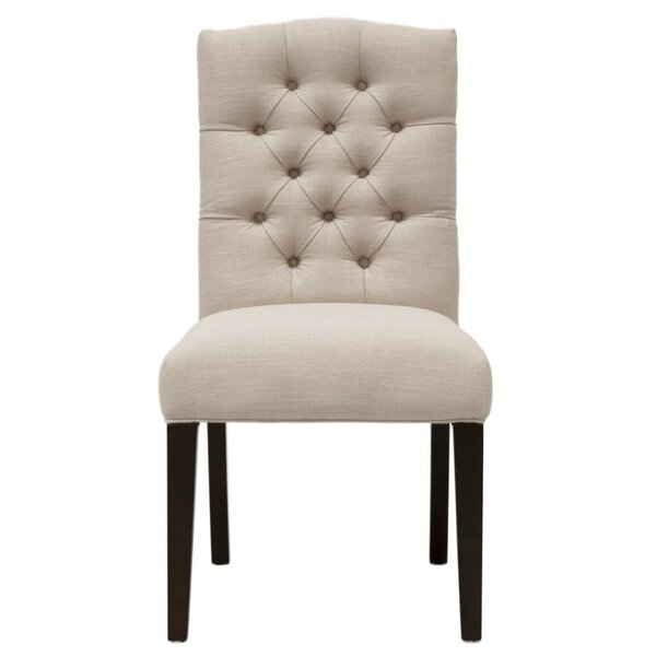 Mcfadden Wooden Framed Upholstered Dining Chair (Set of 2) by Canora Grey