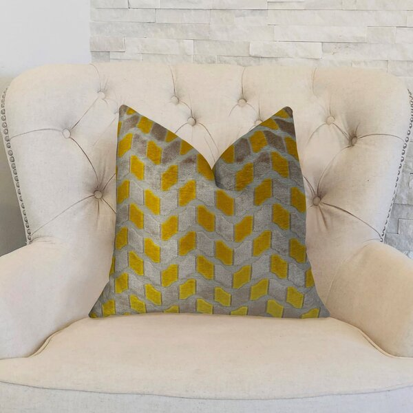 Velvet Rope Handmade Throw Pillow by Plutus Brands