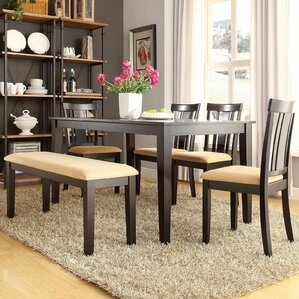Bench Kitchen & Dining Room Sets You\'ll Love | Wayfair