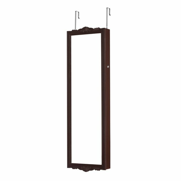 Fiona Wall Mount Jewelry Armoire with Mirror by Alcott Hill Alcott Hill