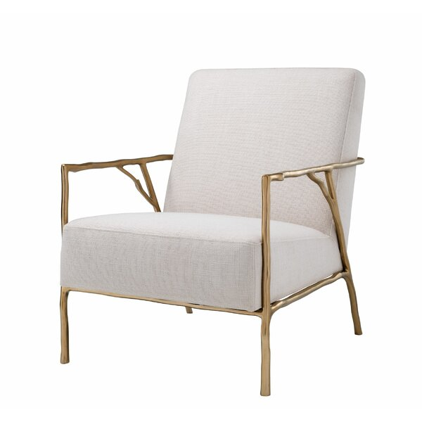 Antico Brass Branch Armchair