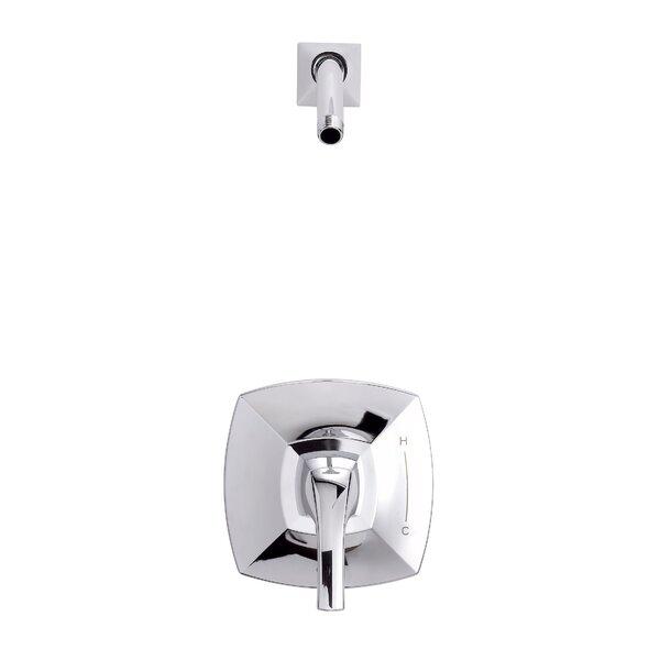 Vaughn 1H Shower Only Trim Kit and Treysta Cartridge Less Showerhead by Danze®