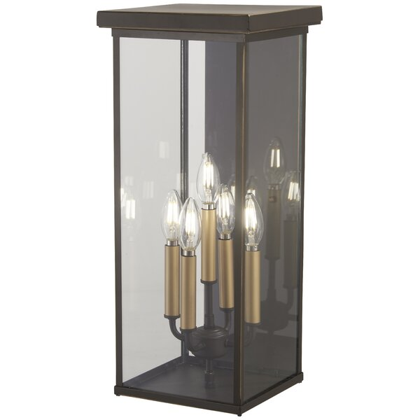 Maultsby 5-Light Outdoor Wall Lantern by Gracie Oaks