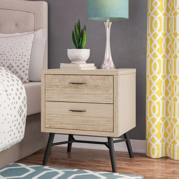 Laquita 2 Drawer Nightstand by Brayden Studio