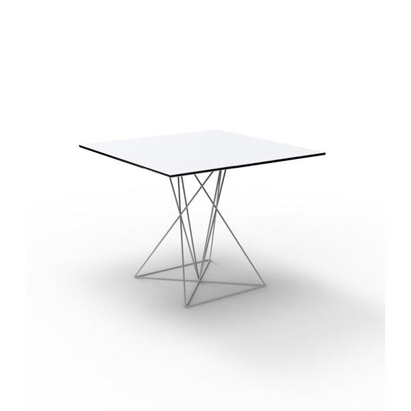 Faz Plastic/Resin Dining Table by Vondom