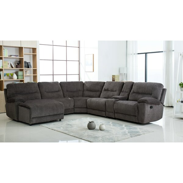 Web Shopping Hai Left Hand Facing Reclining Sectional by Latitude Run by Latitude Run