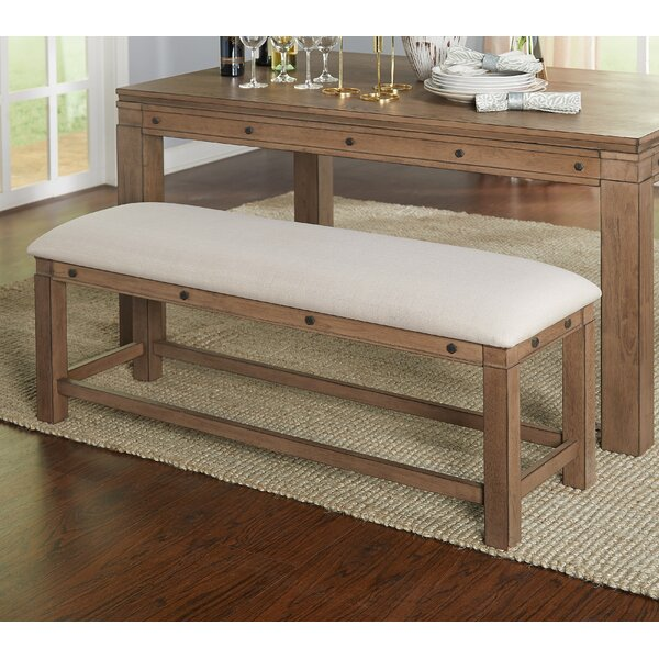 Westendorf Wood Bench by Gracie Oaks