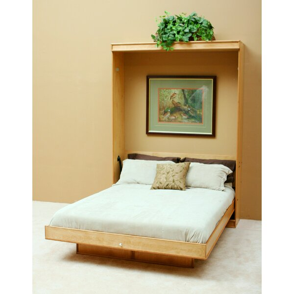 Paint Grade Murphy Platforms Bed by Wallbeds