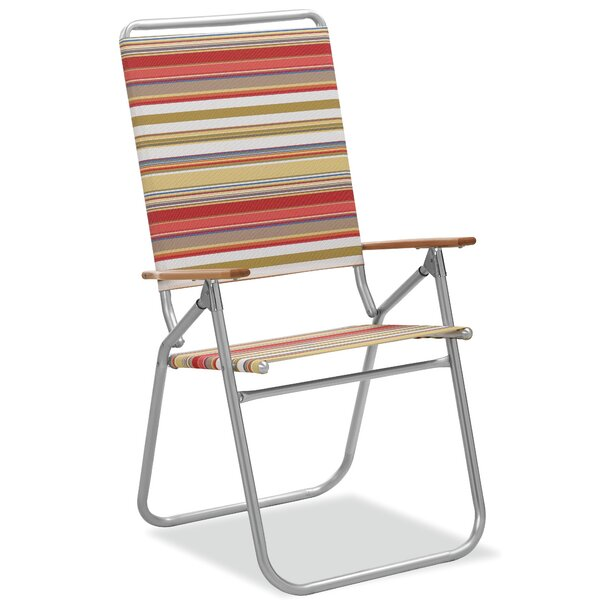 Easy in and out High Boy Reclining/Folding Beach Chair by Telescope Casual Telescope Casual