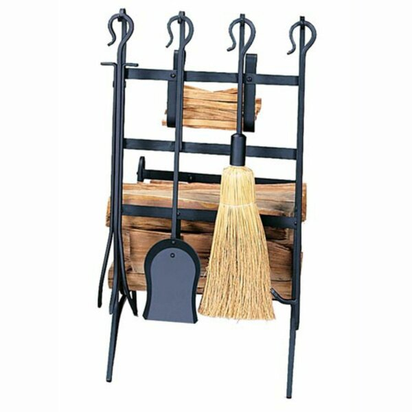 4 Piece Fireplace Tool Set by Uniflame Corporation