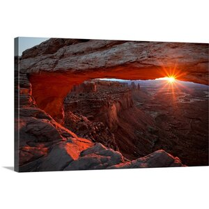 'Mesa Arch Sunrise' by Barbara Read Photographic Print on Canvas by Great Big Canvas