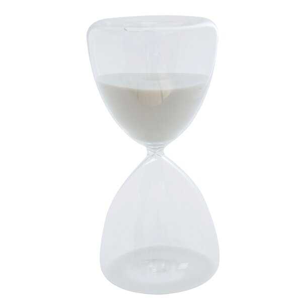 Hollinger Decorative Hourglass by Wrought Studio