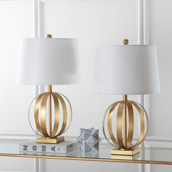 Euginia Sphere 24.5 Table Lamp (Set of 2) by Safavieh
