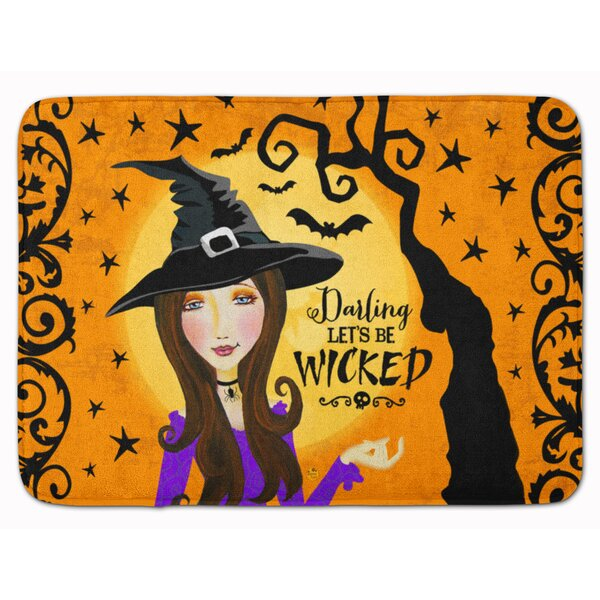 Testa Wicked Witch Memory Foam Bath Rug by The Holiday Aisle