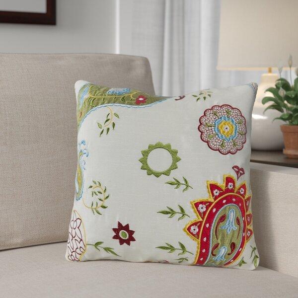 Armington Paisley Throw Pillow (Set of 2) by Andover Mills