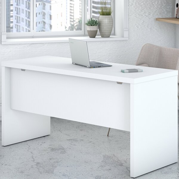 Echo 60 W Desk Shell by Kathy Ireland Office by Bush