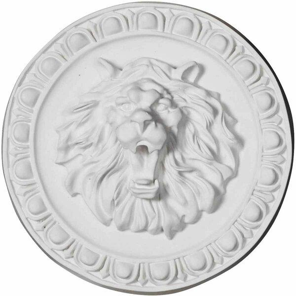 Lion 13 3/4 H x 13 3/4 W x 3 5/8 D Rosette by Ekena Millwork