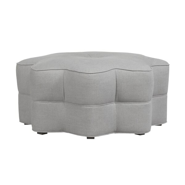 San Paulo Star Tufted Ottoman by Duralee Furniture