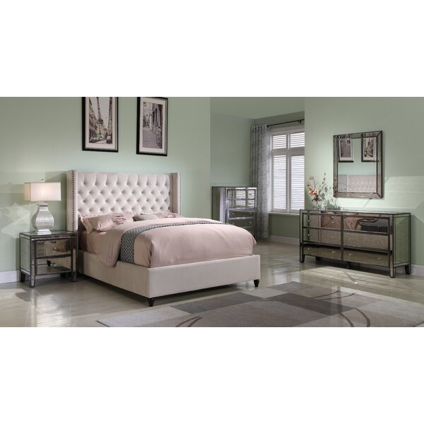 Treva Upholstered Platform Bed by Darby Home Co