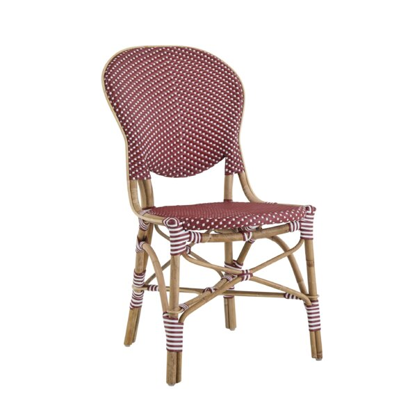 Isabell Rattan Bistro Patio Dining Chair by Sika Design