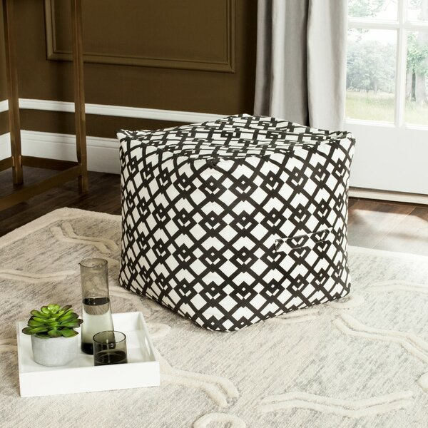 Straton Pouf by Mercury Row