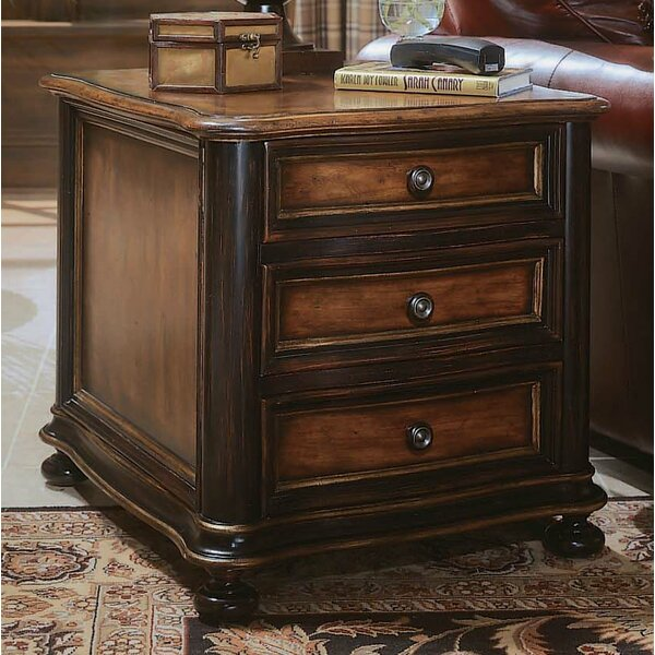 Preston Ridge 3 Drawer Nightstand by Hooker Furniture