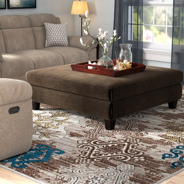 Maddocks Cocktail Ottoman by Andover Mills