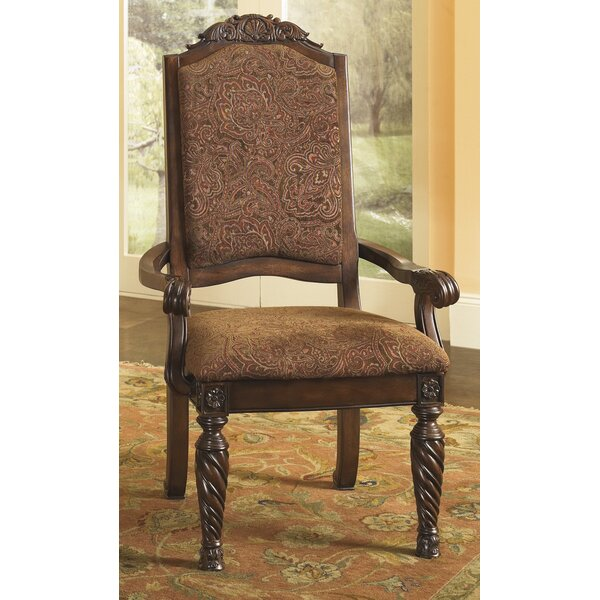 Castlethorpe Upholstered Arm Chair (Set of 2) by Astoria Grand