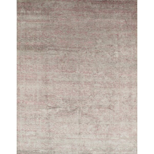 Hand-Knotted Rayon from Bamboo Silk Area Rug by Pasargad