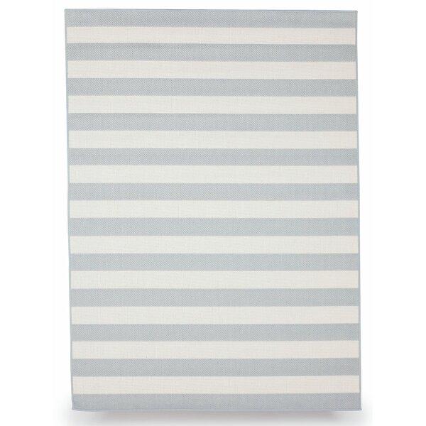 Naples Slate Gray Indoor/Outdoor Area Rug by Budge Industries