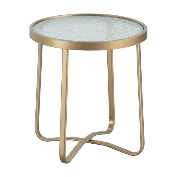 Mirabelle Outdoor Side Table by Elle Decor