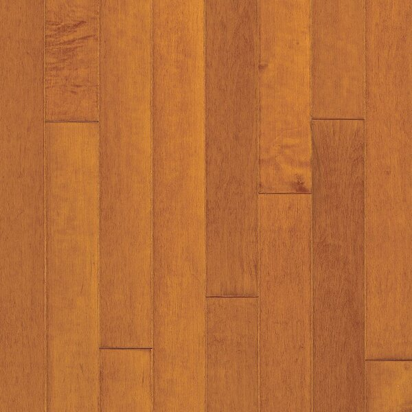 Turlington 5 Engineered Maple Hardwood Flooring in Low Glossy Cinnamon by Bruce Flooring