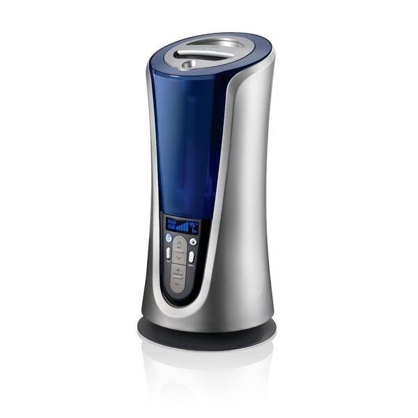1.4 Gal. Dual Mist Ultrasonic Tower Humidifier by Homedics