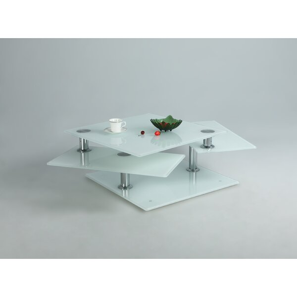 Endeavor Solid Coffee Table With Storage By Orren Ellis