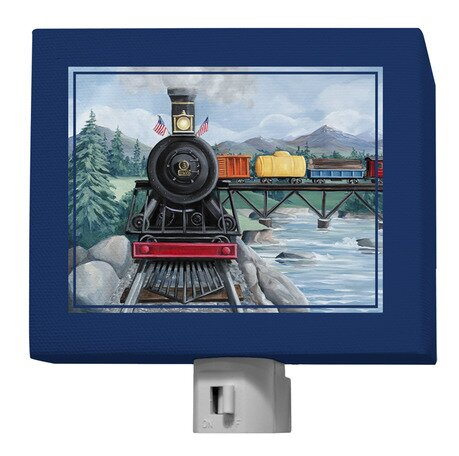 Locomotive Journey Night Light by Oopsy Daisy