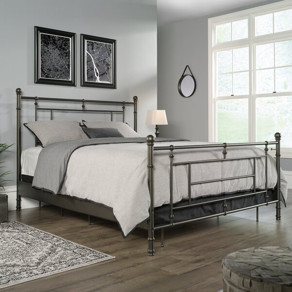Kromer Full Open-Frame Headboard and Footboard by Williston Forge