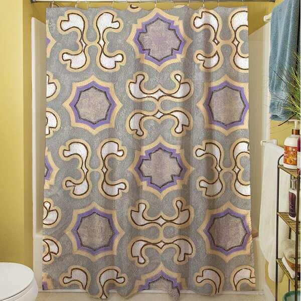 Plum Scene I Shower Curtain by Manual Woodworkers & Weavers