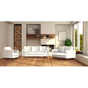 Shantelle 3 Piece Living Room Set by Corrigan Studio®